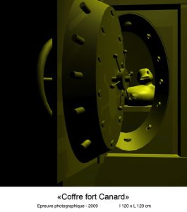 Coffre fort Canard